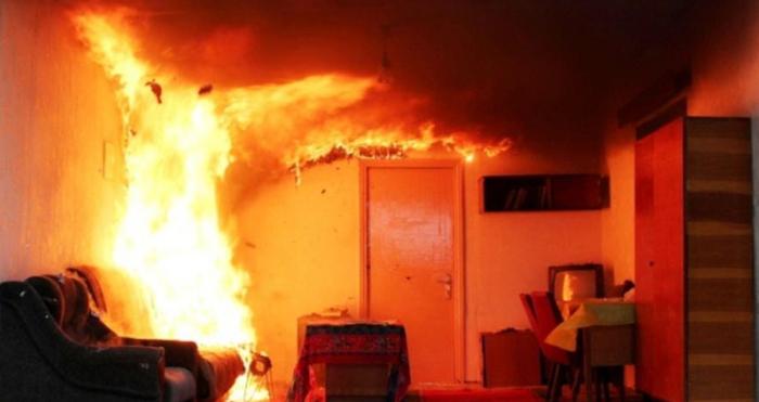 Пожежа у квартирі