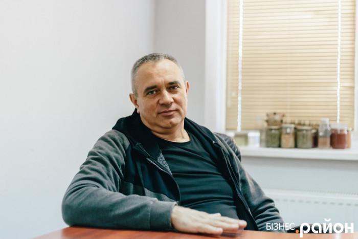 Директор Демидівського консервного заводу Олег Кобись