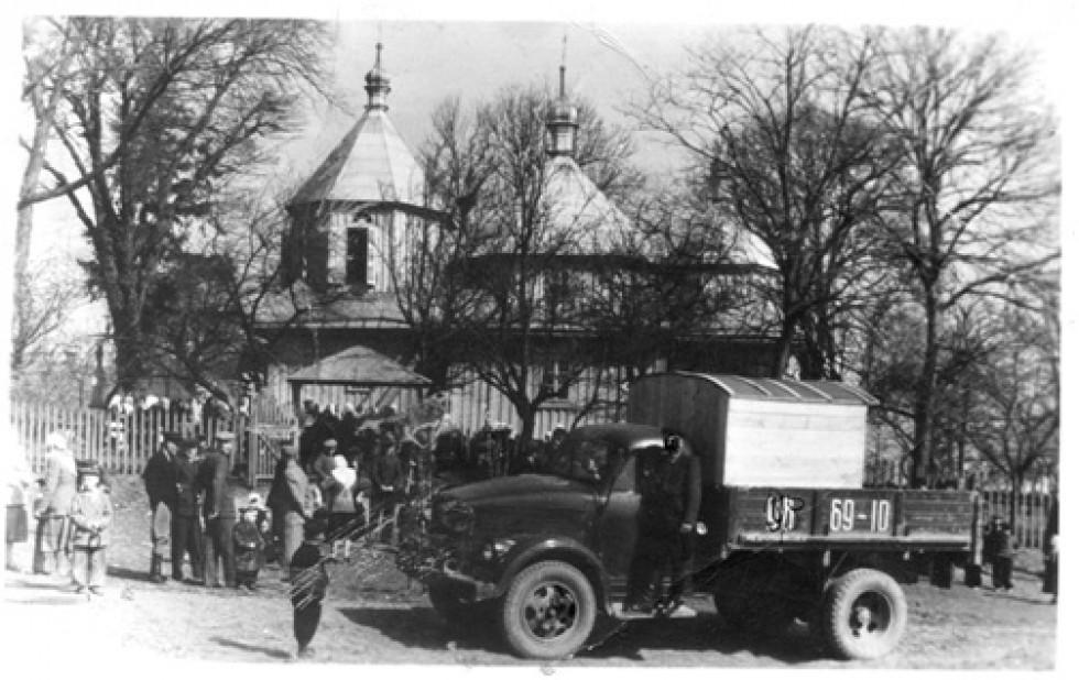 Храм святого Архистратига Михаїла с. Бужанка, який був зруйнований у 1957 році.