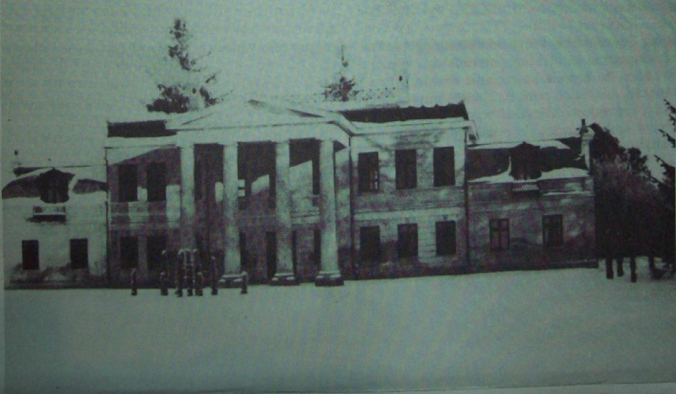 Палац в Заболотцях, фото до 1939 р.