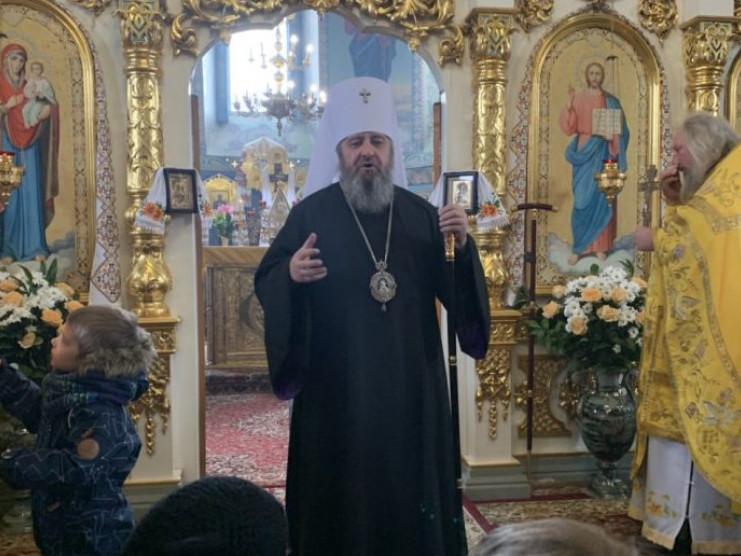 Митрополит Володимир підтримав намісника, насельників та прихожан Низкиницького монастиря