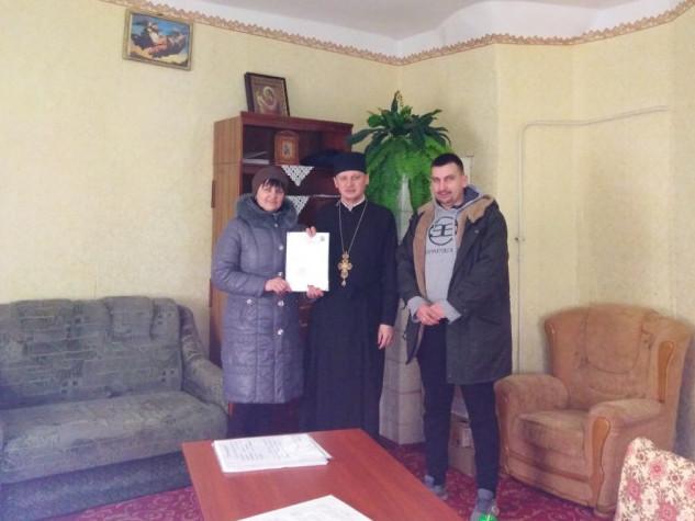Релігійна громада села Низкиничі офіційно приєдналась до ПЦУ