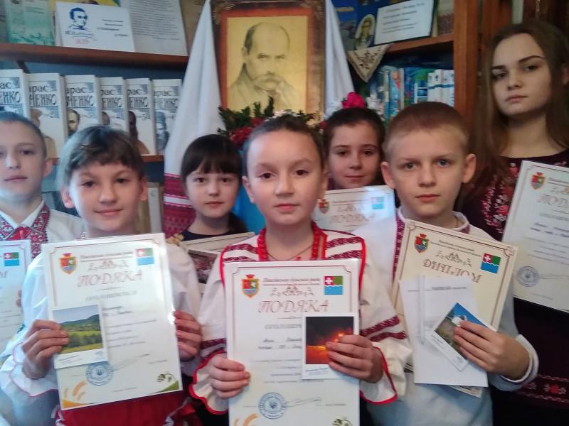 «З Кобзарем у серці» – у Павлівці відбувся конкурс читців