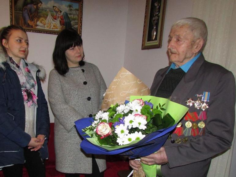 Волинянин відзначає своє 100-річчя