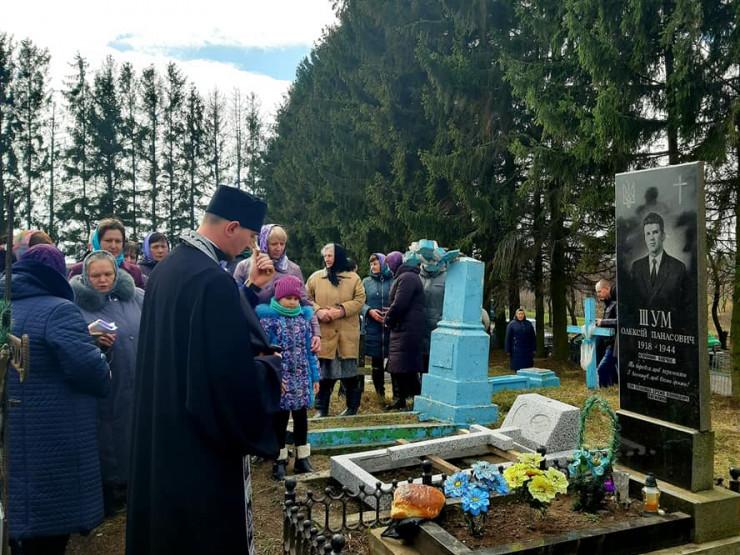 На Волині вшанували пам'ять курінного УПА Олекси Шума