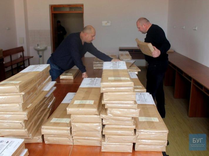 Виборчий округ №19 отримав бюлетені