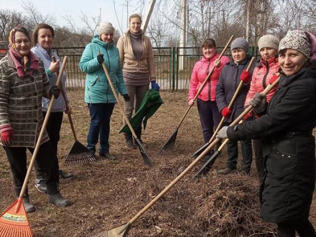 В одному з сіл Іваничівщини провели весняну толоку