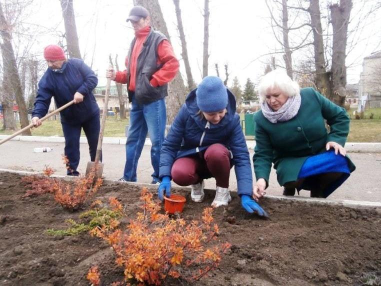 У пам'ять про Героїв в Іваничах засадили парк трояндами