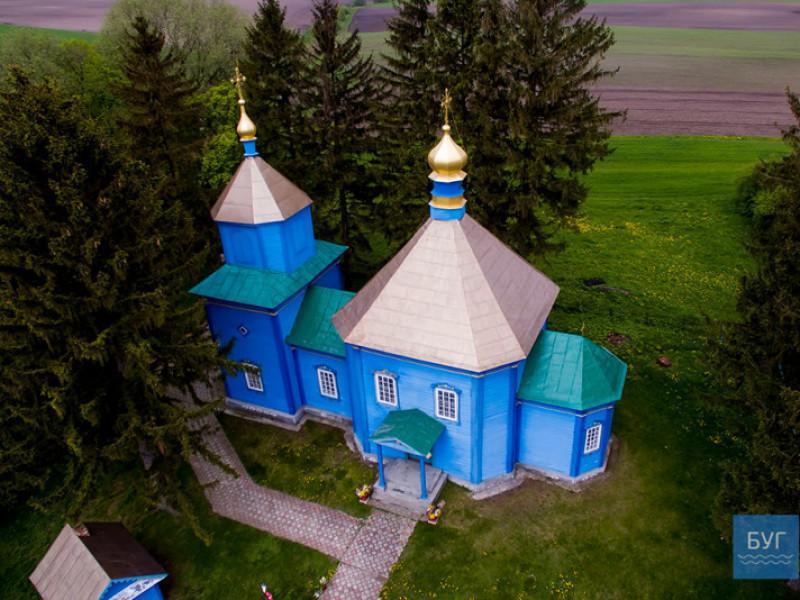 Церква в селі Жашковичі