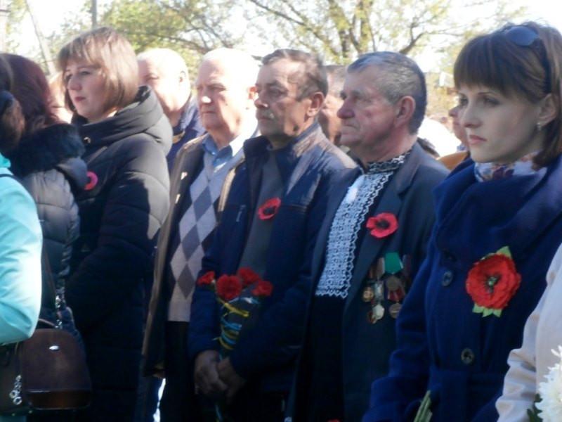 Мешканці Іваничівщини відзначили День пам'яті та примирення