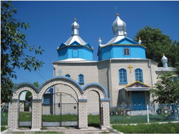 Церква у селі Бужанка