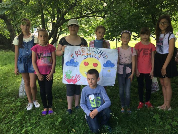 На Іваничівщині завершив свою роботу літній мовний табір «Friendship»