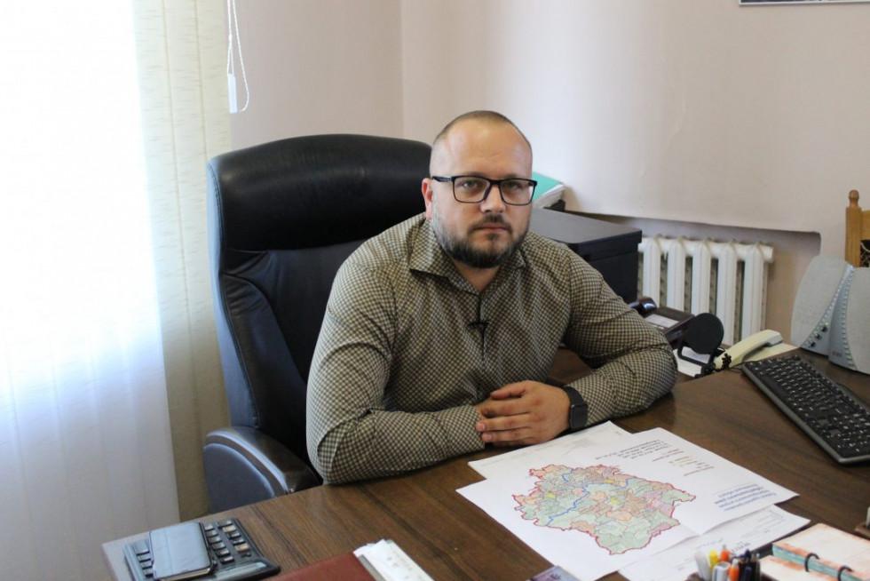 Заступник міського голови Олександр Громик