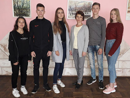 Команда юних географів