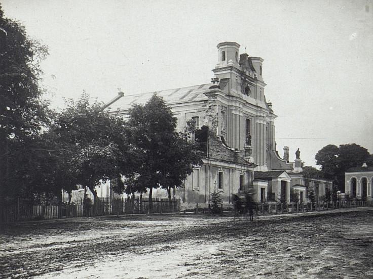 Історичне фото костелу