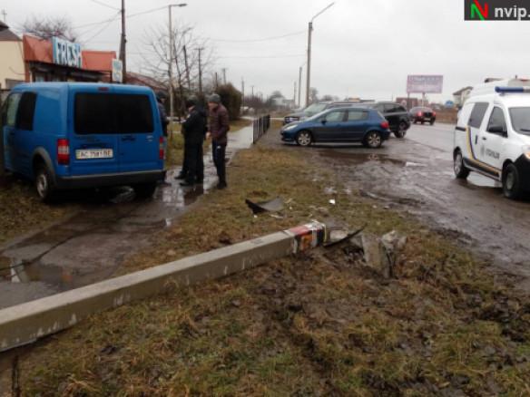 Аварія на автодорозі Р-15