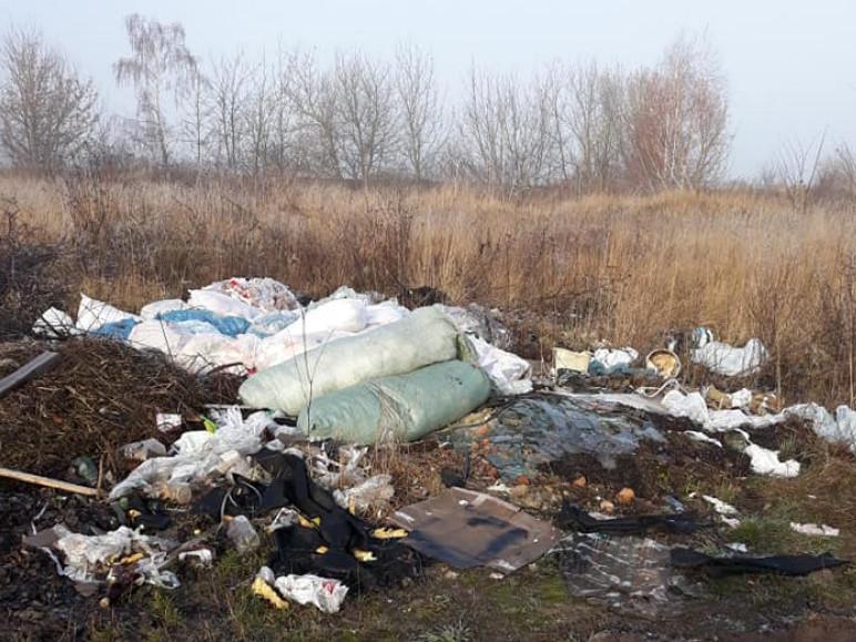 Стихійне сміттєзвалище