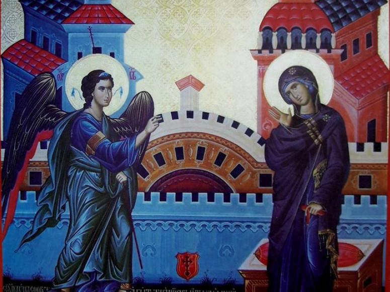Ця ікона– з церкви Благовіщення села Іваничі Володимирського повіту Волинської губернії
