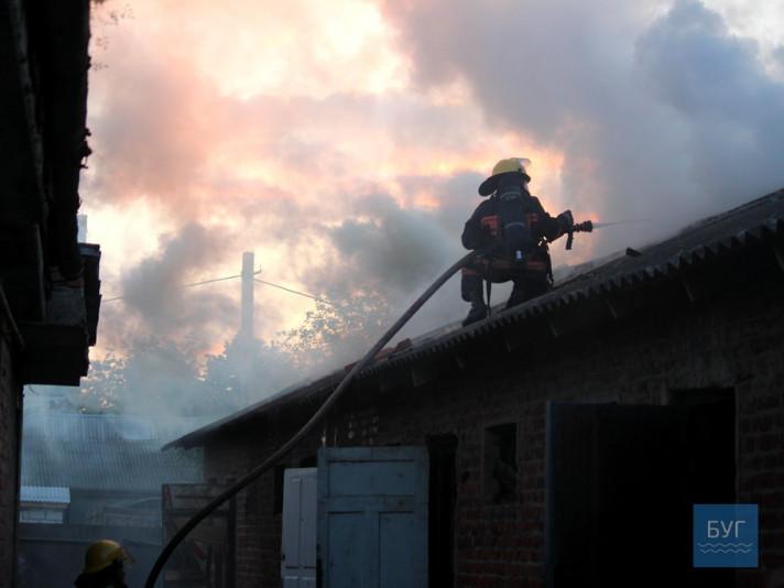 Пожежа у Нововолинську