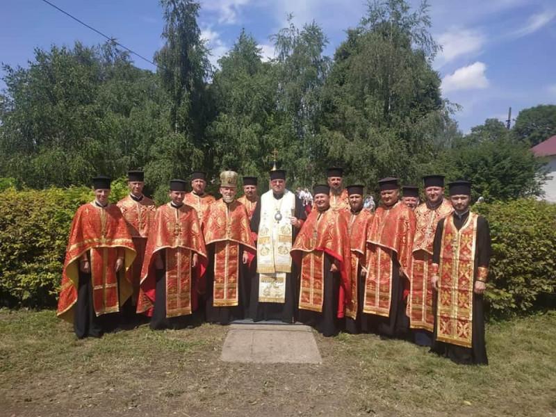 Священники Нововолинського благочиння