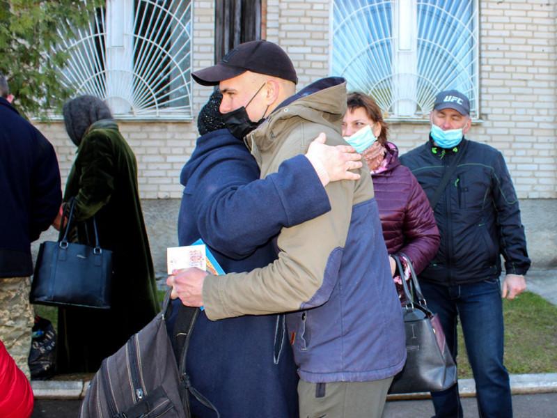 Відправили призовників до лав Збройних сил України