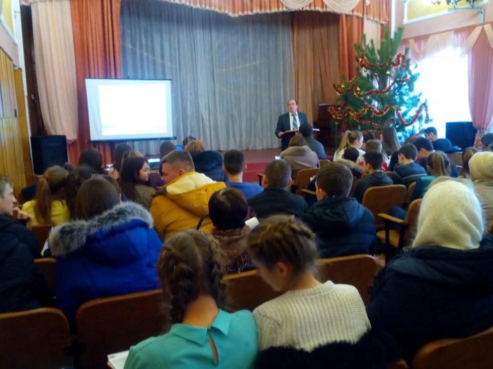 Свої освітні програми презентували більше десяти вищих та професійно-технічних навчальних закладів Волині.