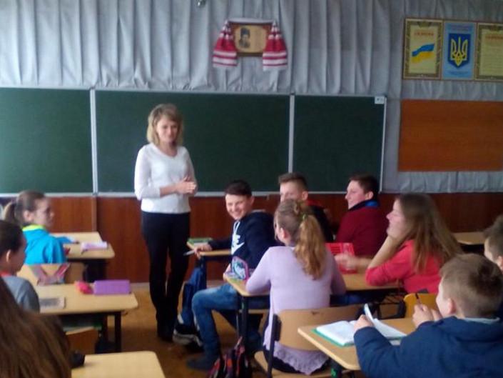 Учням розповідають про світ професій