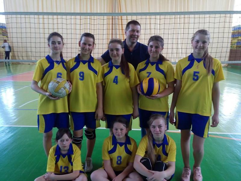 Волейбольна команда дівчат