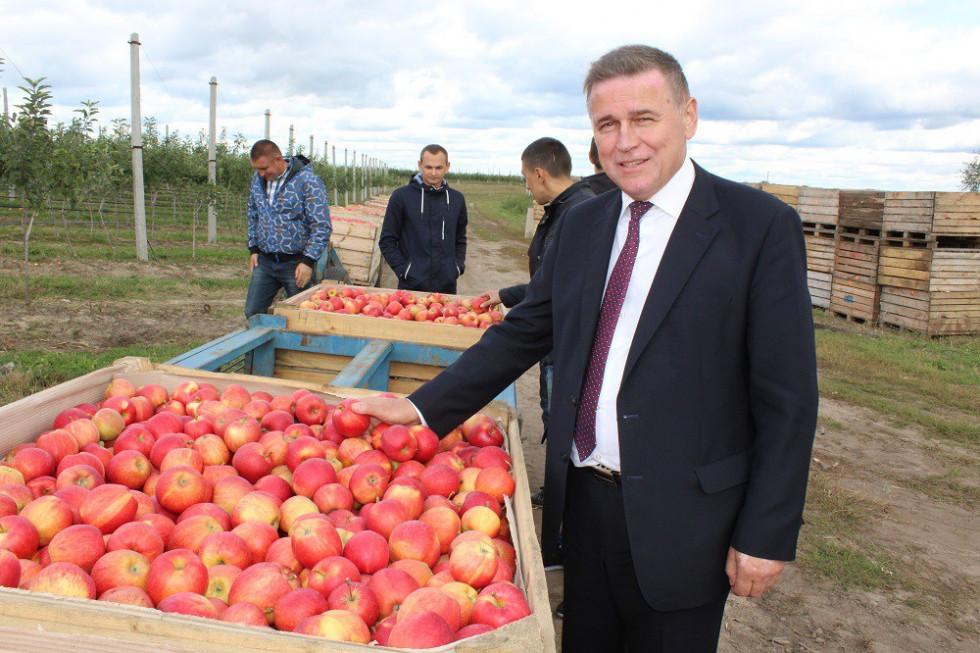 Юрій Горбенко. Фото з сайту Департаменту агропромислового розвитку Волинської ОДА