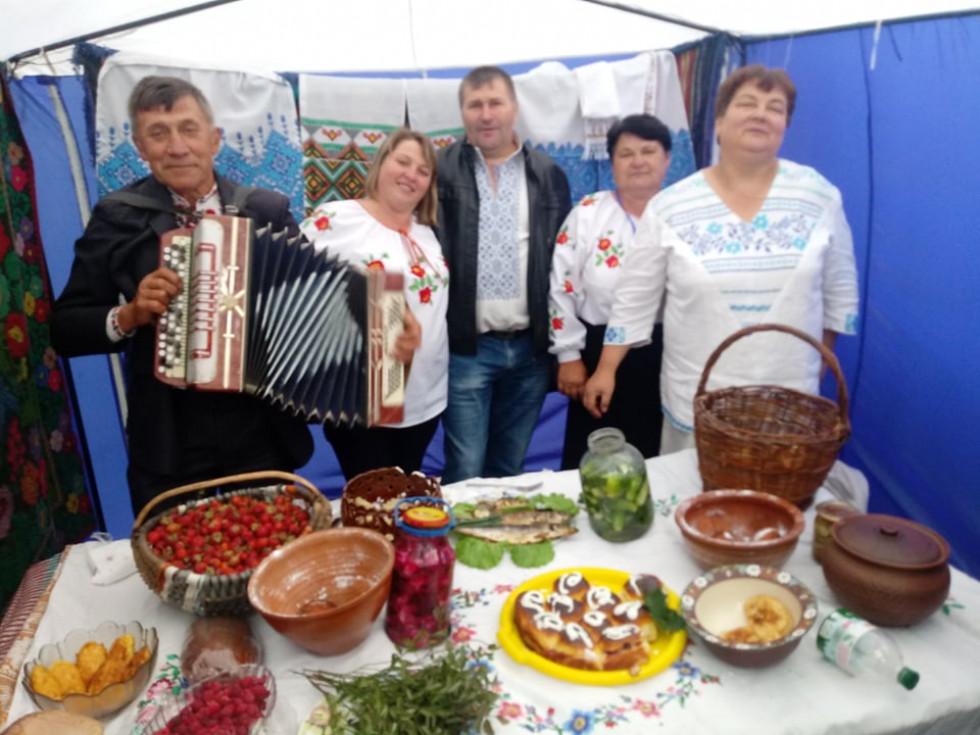 Весело було біля представників Любомльщини