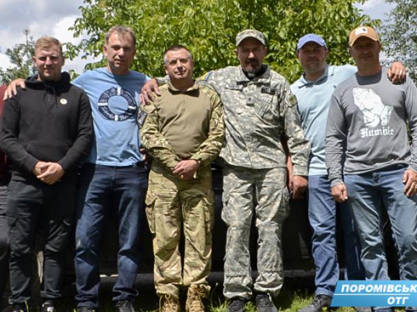 Волонтериприїхали провідати і вшанувати учасників АТО.