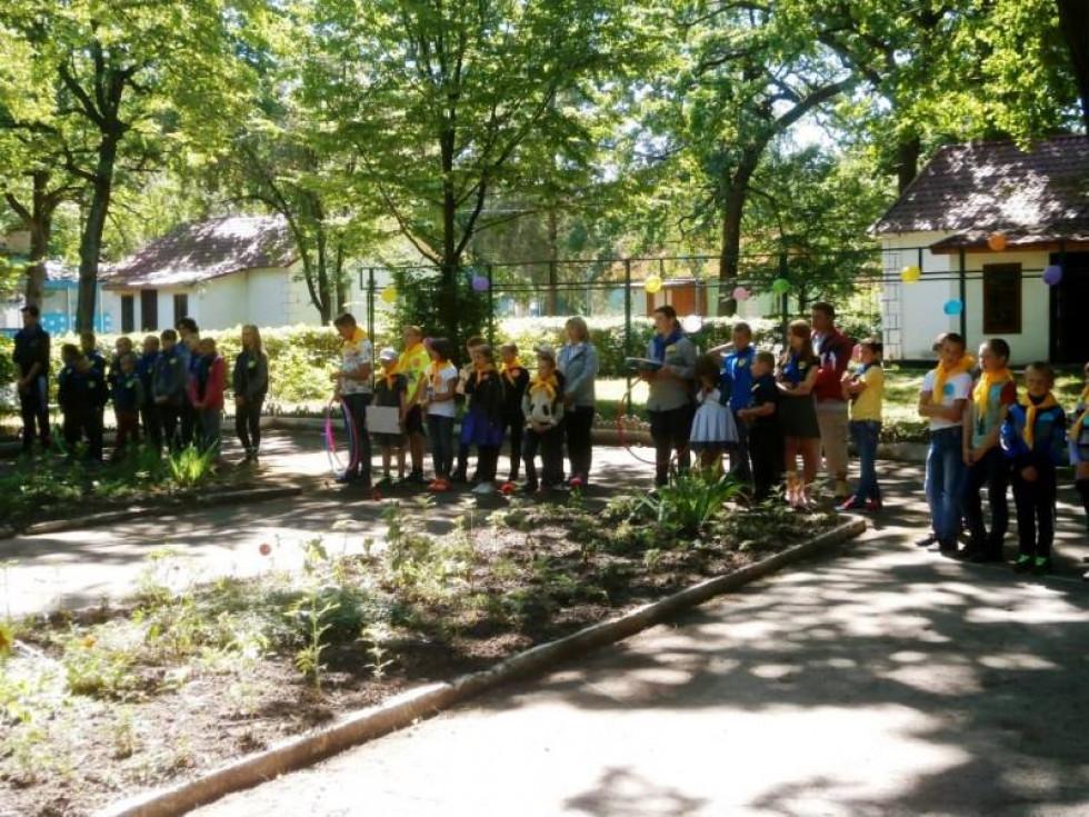 Днями відбулося офіційне відкриття табірної зміни у КЗ «Позаміський заклад оздоровлення та відпочинку «Барвінок».