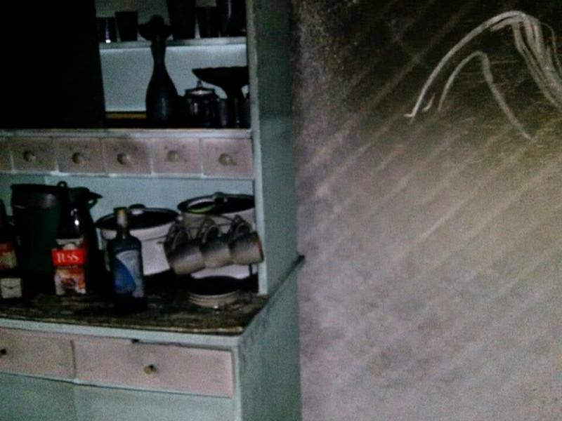 Фото помешкання після пожежі