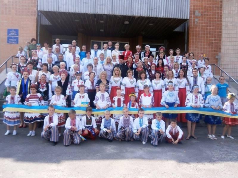 День Незалежності України відзначили в Іваничах