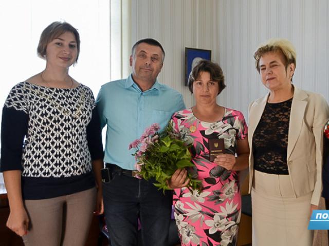 Світлану Якубук привітали голова громади Євген Недищук, представники сільської громади.