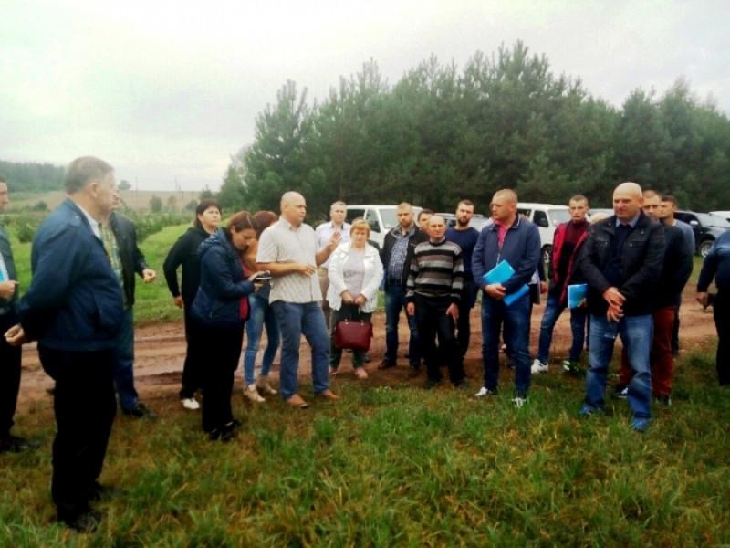 У минулу суботу на Іваничівщині відбувся «День поля».