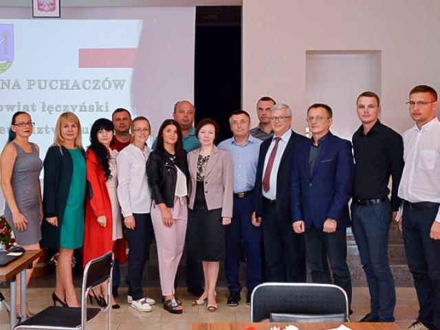 Голова Поромівської ОТГ ЄвгенНедищук взяв участь у навчанні