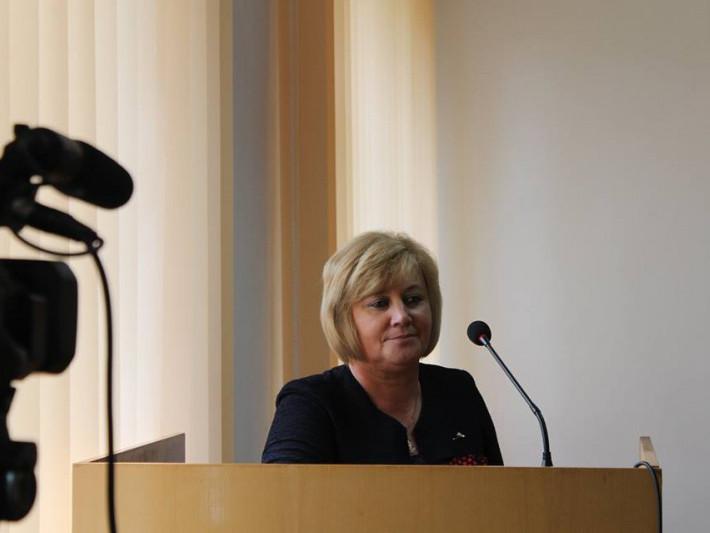 Ніна Шумська каже, що не знає хтосаме запропонувавїї кандидатуру на посаду виконувача обов'язків директора Іваничівської школи-інтернату