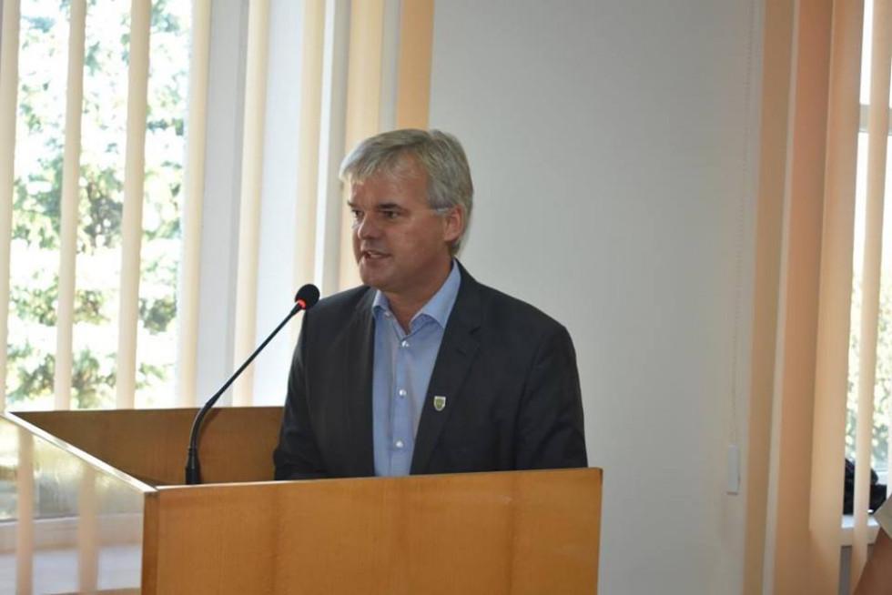 Делегація з німецького міста Ерцгаузен на чолі із новообраним мером Клаудією Ланге, екс-мером Райнером Зайбольдом та представниками місцевого самоврядування