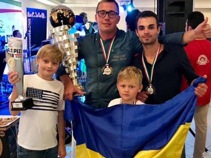 Волинянин Андрій Злотко виборов призове місце на чемпіонаті піци в Італії