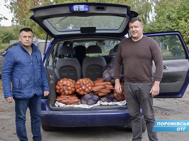 В одній із волинськиз громад зібрали продукти для бійців, що воюють на Сході