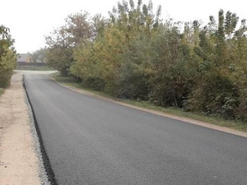 На Волині зробили капітальний ремонт відрізку дороги за 600 тисяч гривень