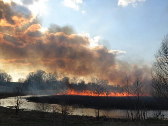 Рятувальники та метеорологи попереджають про пожежну небезпеку