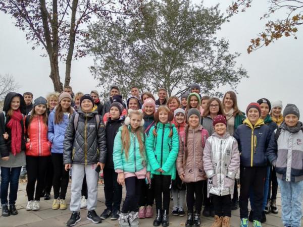 Литовезькі школярі відвідали столицю України