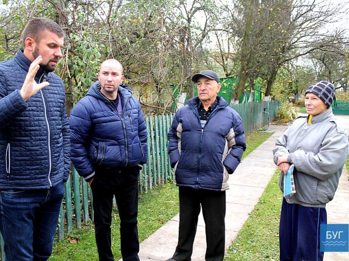 Свої проблеми іваничівці озвучили народному депутату України Ігорю Гузю