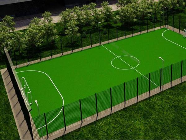 Навчальний заклад з Волині отримає футбольне поле зі штучним покриттям