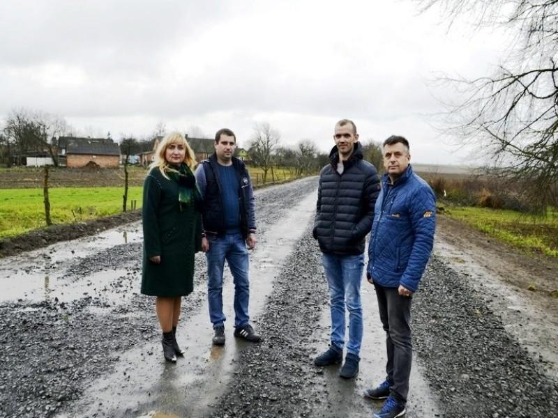 Поромівська громада: інспектували ремонт доріг