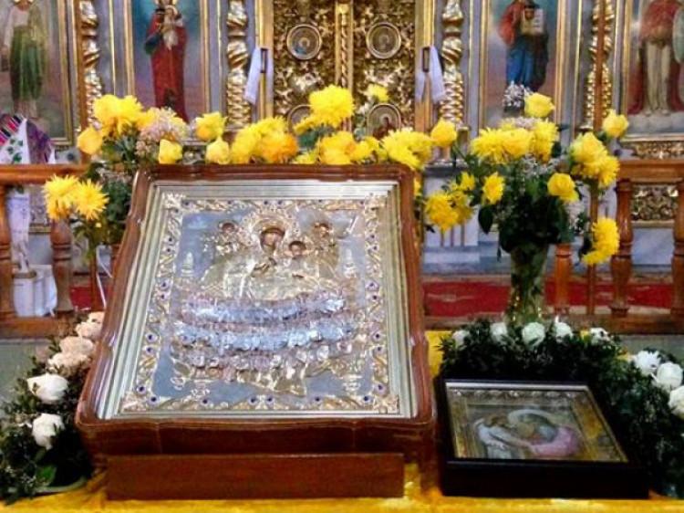 На Волинь прибуде чудотворний образ Божої Матері «Всецариця»