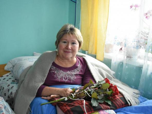 На Волині привітали українську художницю