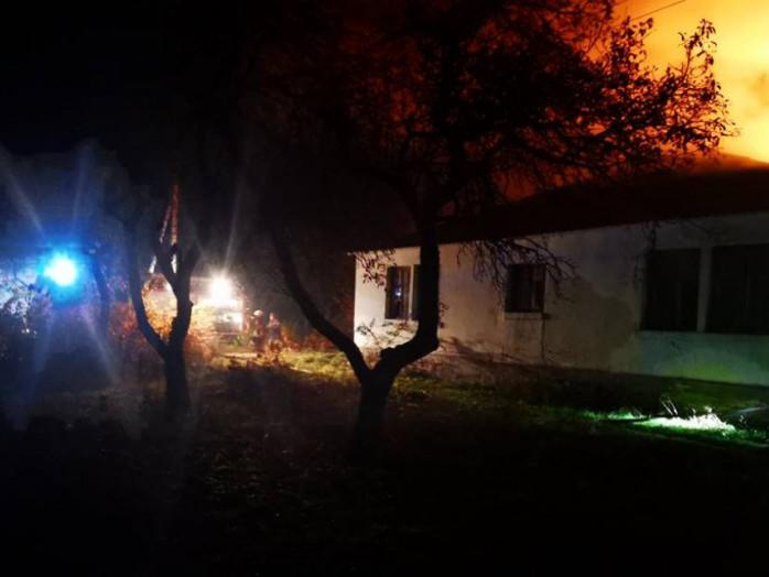 Під час пожежі у відділенні лікарні